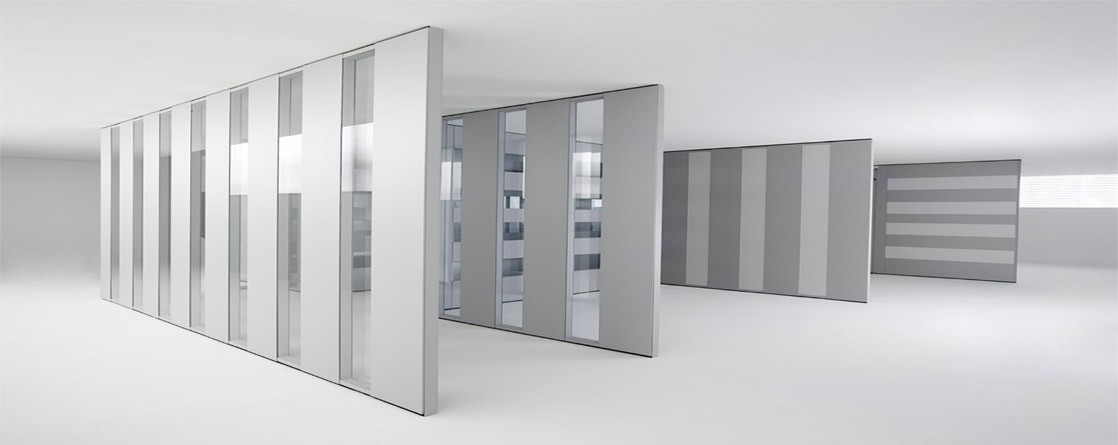 Soluzioni per pareti divisorie