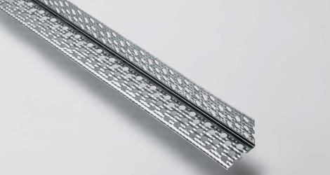 Paraspigolo in metallo con angolo a 90° Rif. CE L_30_30 Sp. 5_10