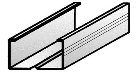 Profilo S4927 con bordo schiacciato Rif. CE C 27_48_27 Sp. 6_10
