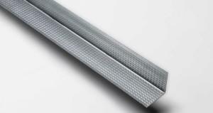 Profilo a 'Z' cornice o scuretto in lamiera zincata preverniciata (12X24X12)