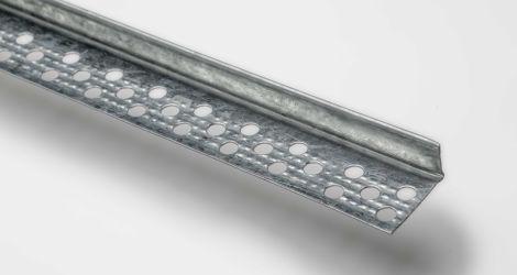 Profilo parabordo in lamiera zincata (23X14X300)
