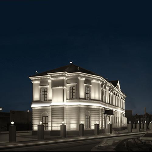 Cornici per illuminazione indiretta eleni lighting news - Cornici per facciate esterne ...